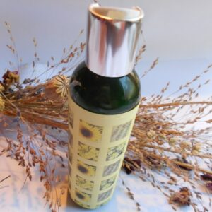 2.p solar infused massage oil